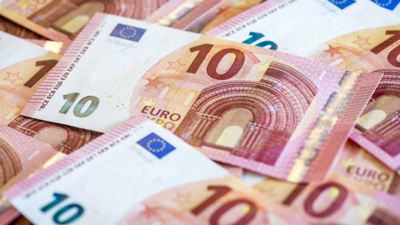 Varios billetes de 10 euros