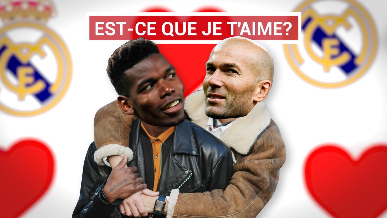 Zidane suspira por Pogba
