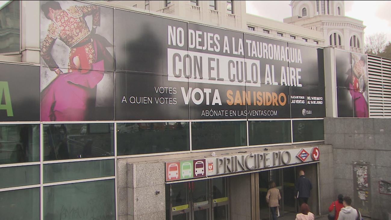 La feria de San Isidro se publicita con un cartel polémico y político