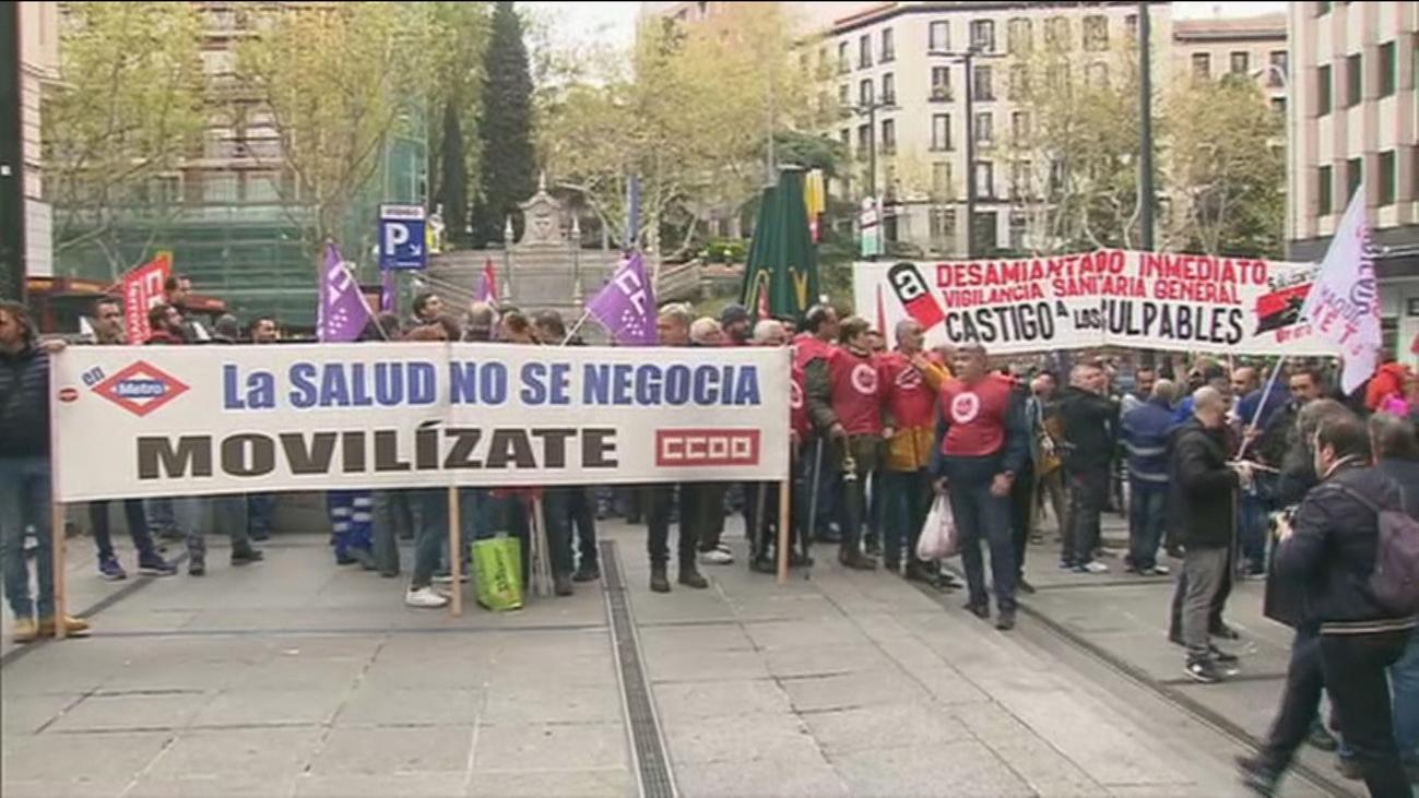 La familia del trabajador fallecido por amianto pide 400.000 euros a Metro de Madrid