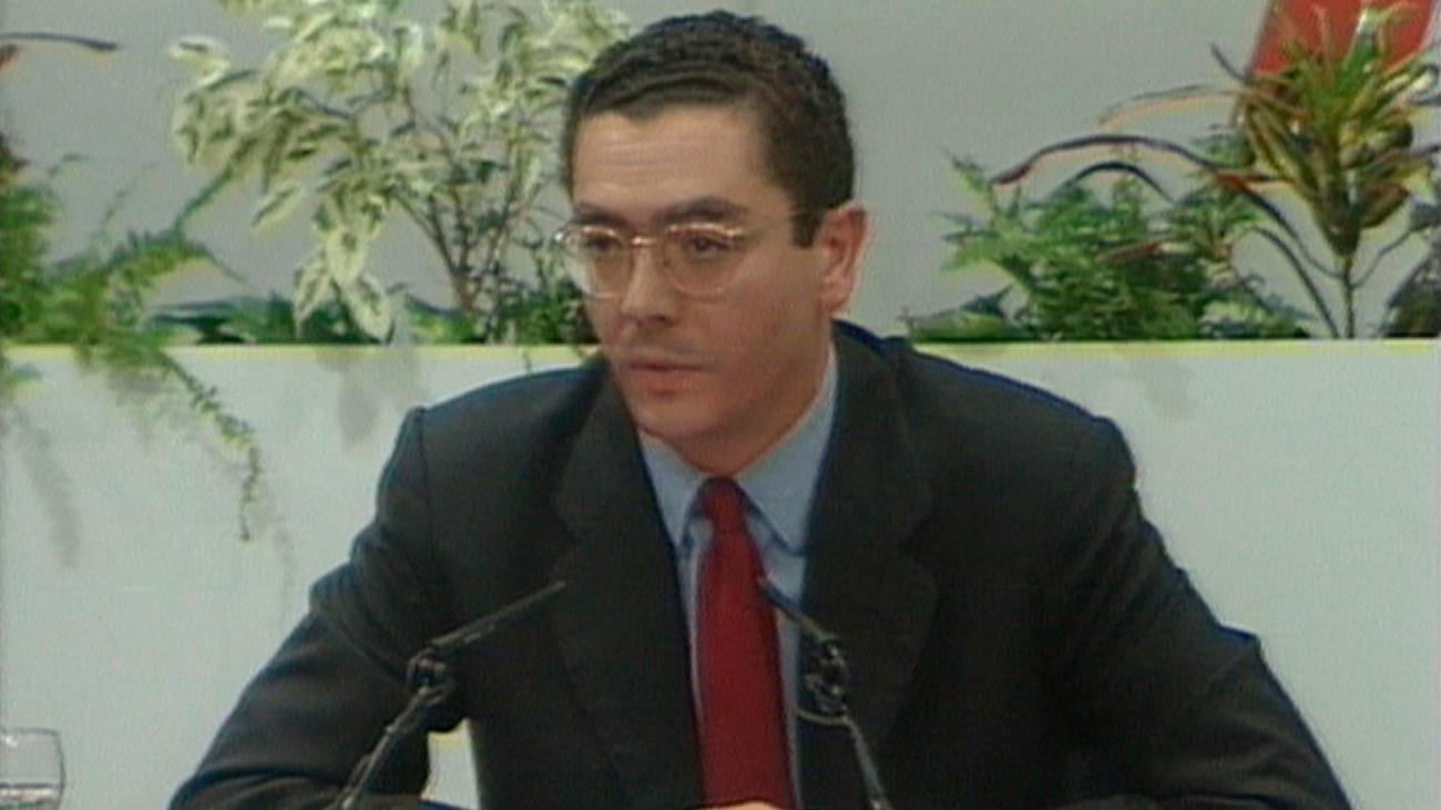1995. El PP conquista por primera vez la Comunidad de Madrid