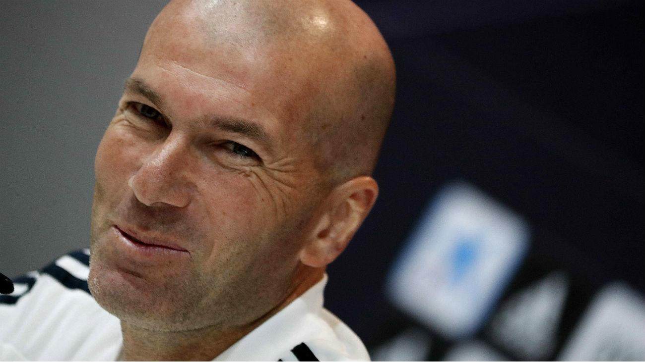 """Zidane: """"No va a haber debate en la portería, va a estar muy claro"""""""