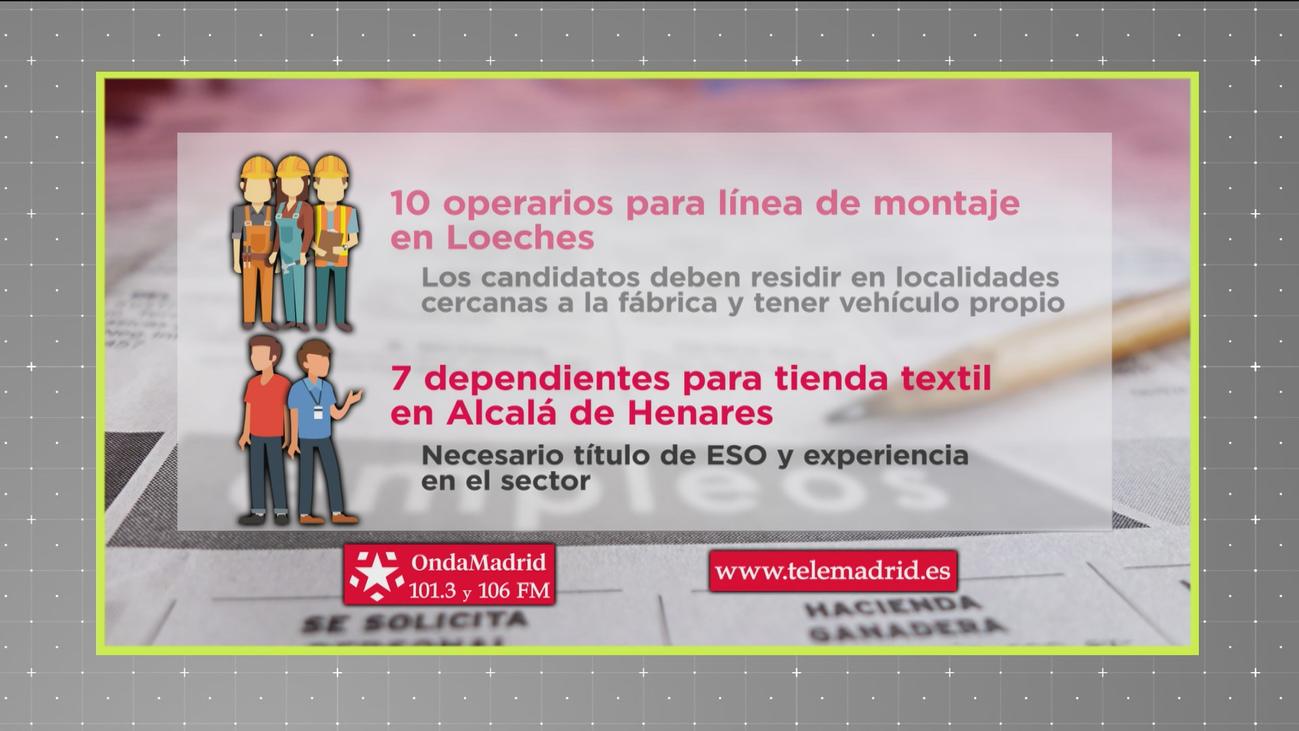 Se buscan dependientes para trabajar en una tienda de Alcalá de Henares