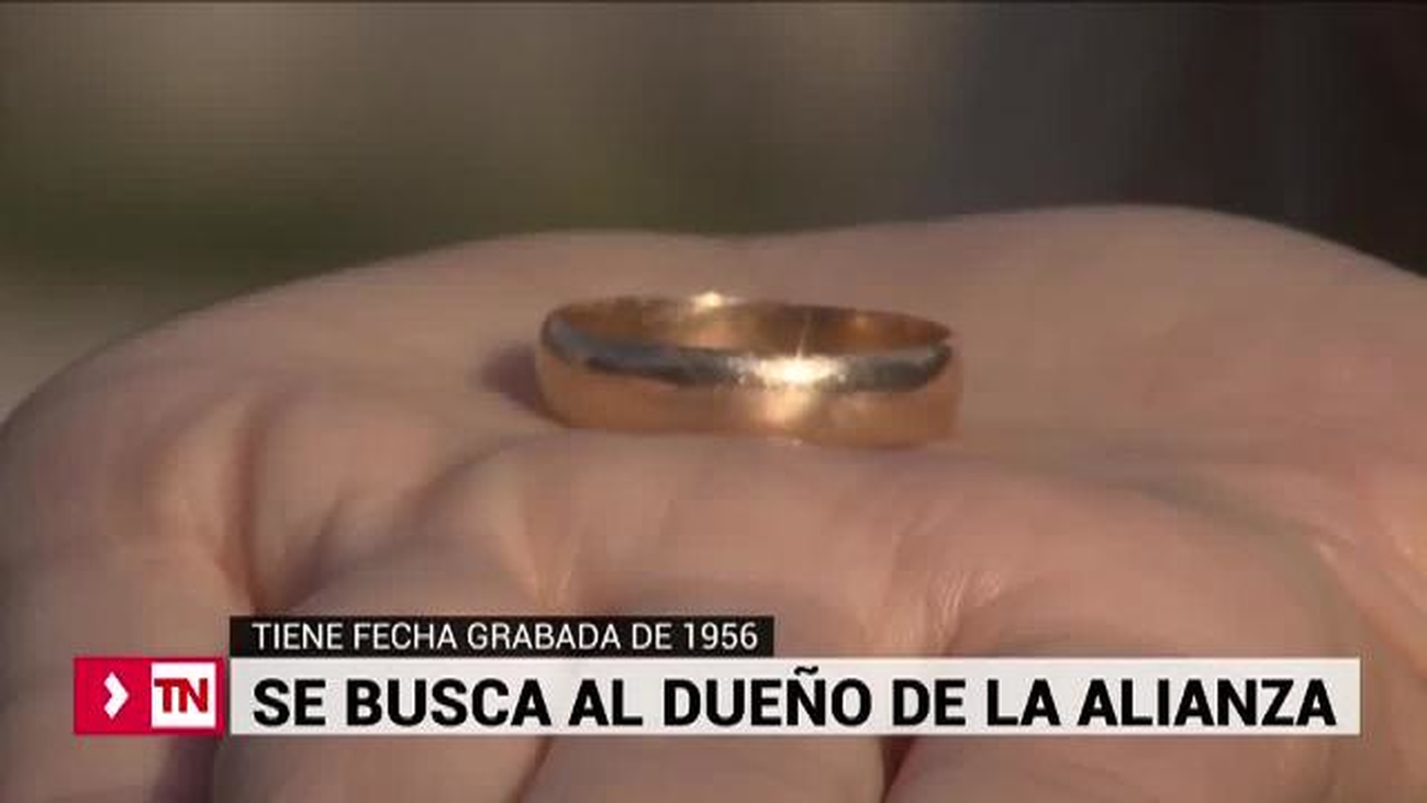 Alianza perdida en Canalejas solo fechada a 1956 busca a su dueño