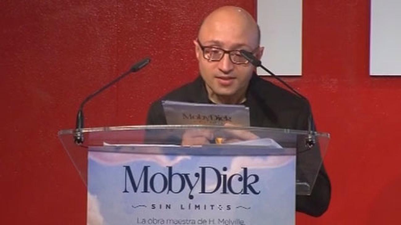 Un 'Moby Dick sin límites' y sin usar la letra 'e' para apoyar a las personas con discapacidad
