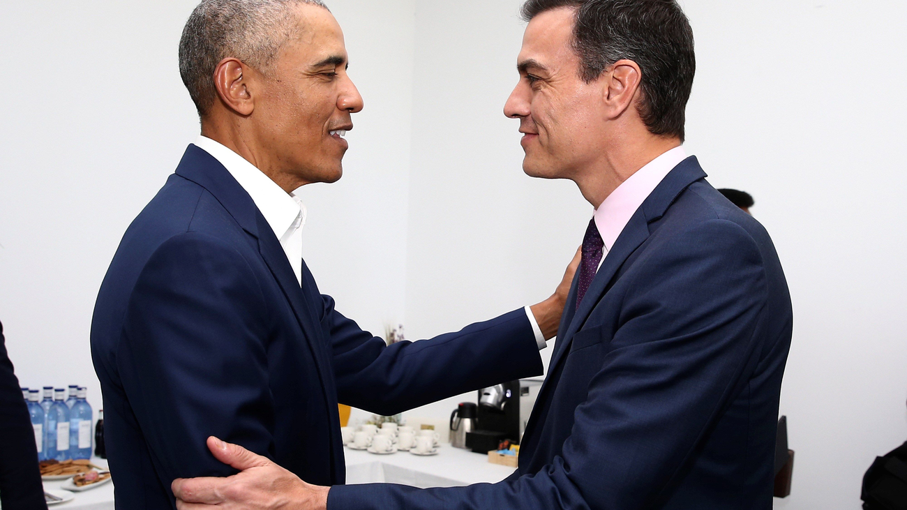 Obama y Sánchez se reúnen en la Cumbre Mundial del Turismo