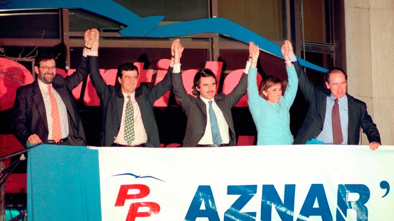 1996. El PP gana las elecciones tras 14 años de felipismo