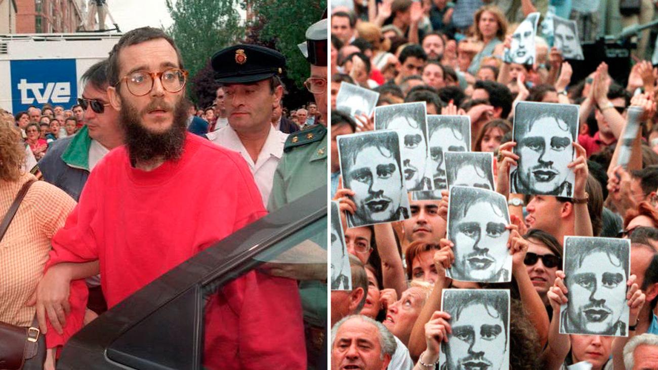 1997. La Guardia Civil libera a Ortega Lara y ETA ejecuta a Miguel Ángel Blanco