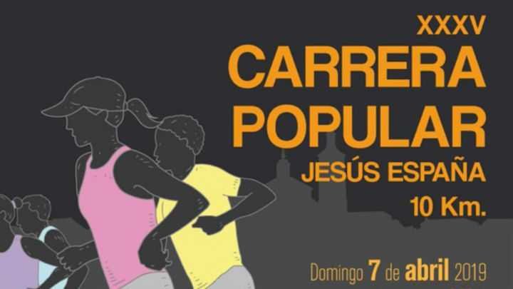 35ª Carrera Popular Jesús España en Valdemoro