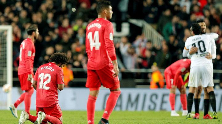 2-1. Un discreto Real Madrid, superado por el Valencia
