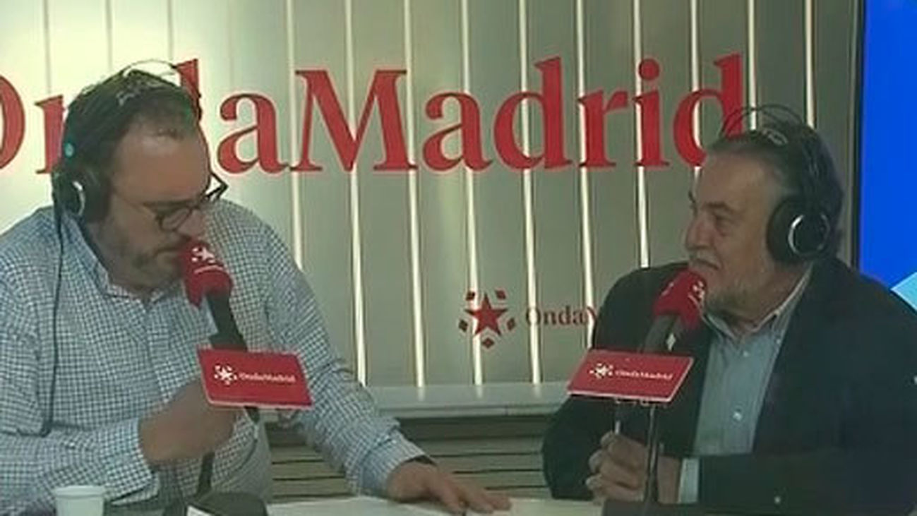Pepu Hernández es entrevistado en Onda Madrid