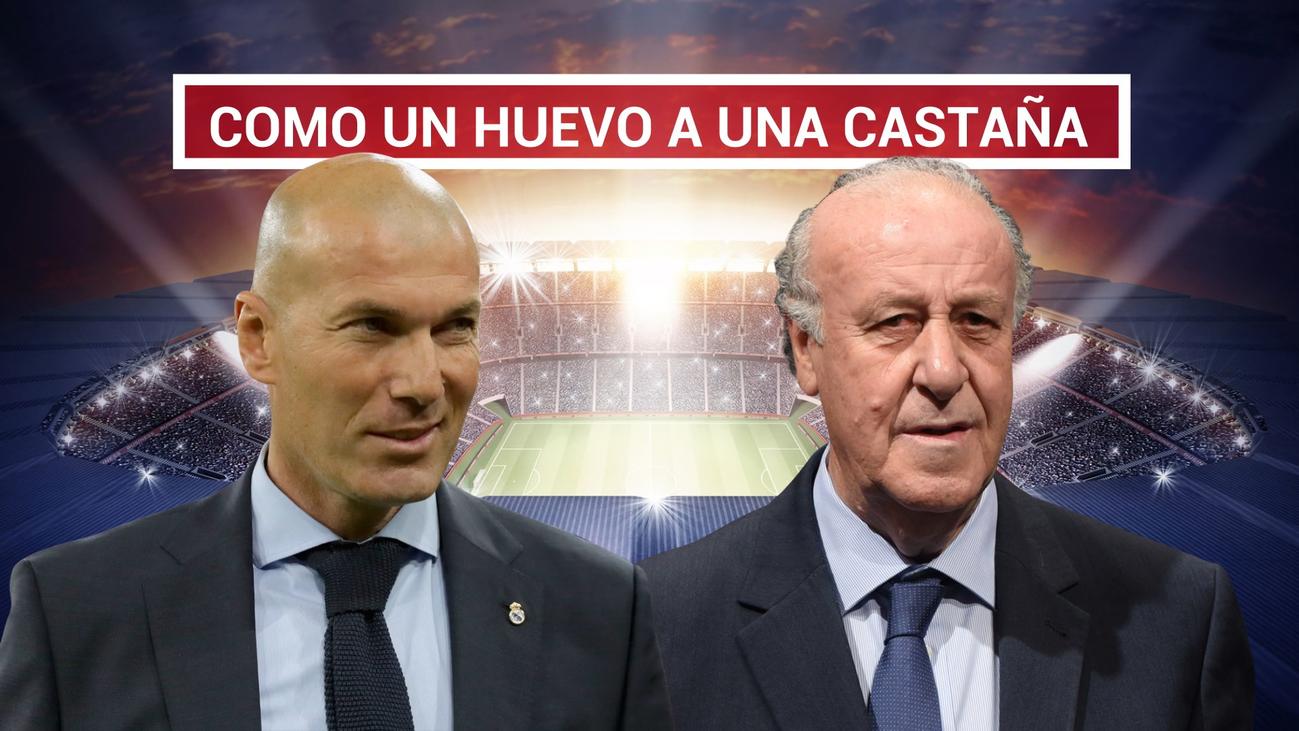 """Casillas: """"Zidane me recuerda a Del Bosque"""""""