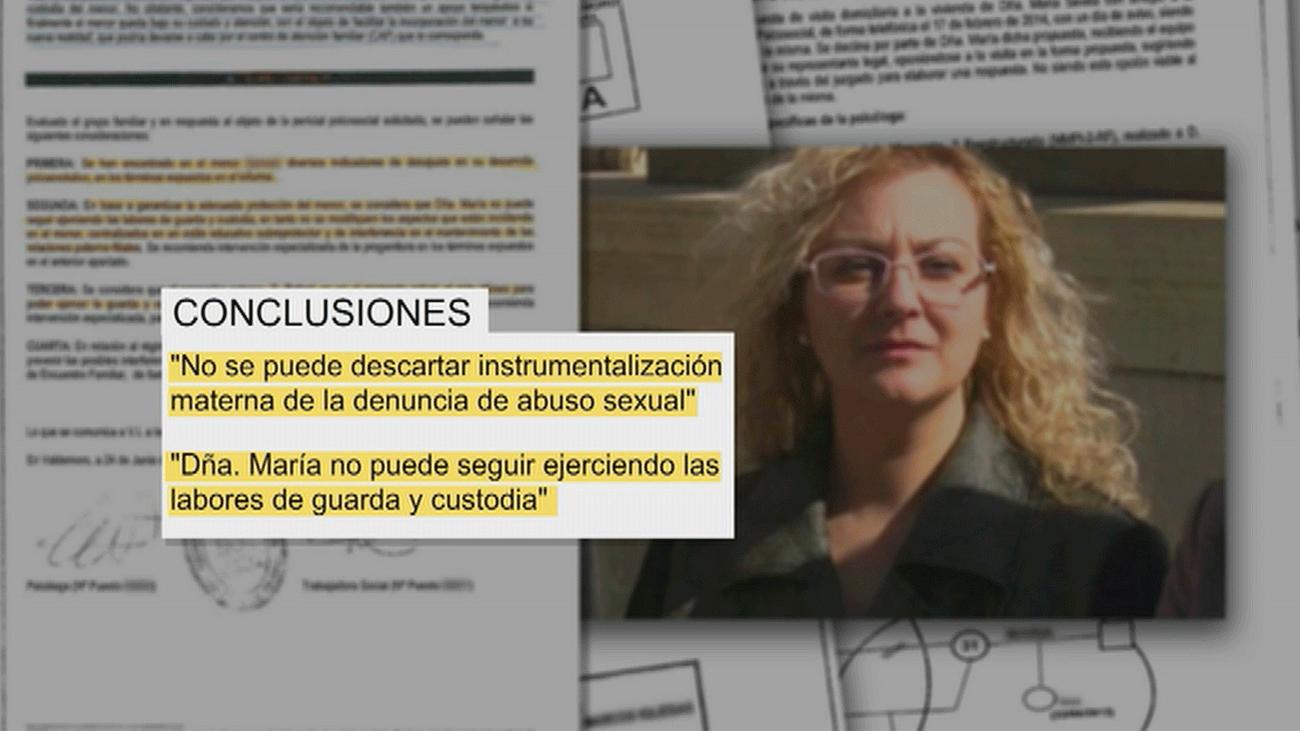 Un informe judicial destaca la sobreprotección que María Sevilla tenía sobre su hijo