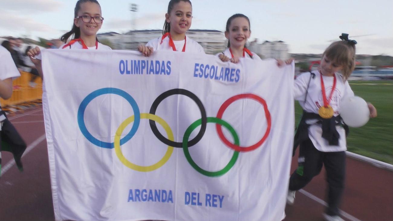 Récord de participación en la Olimpiada Escolar de Arganda