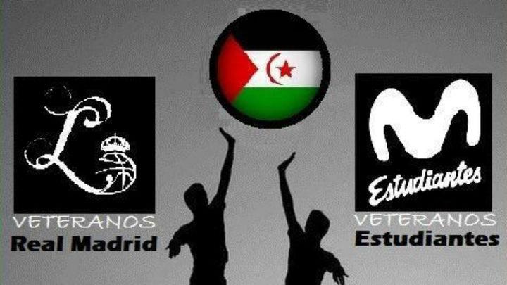 Veteranos del Real Madrid y Estudiantes ayudan al pueblo saharaui