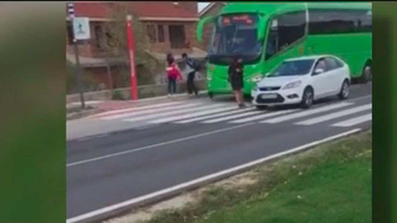Un paso de cebra en Quijorna convertido en una trampa mortal para los peatones