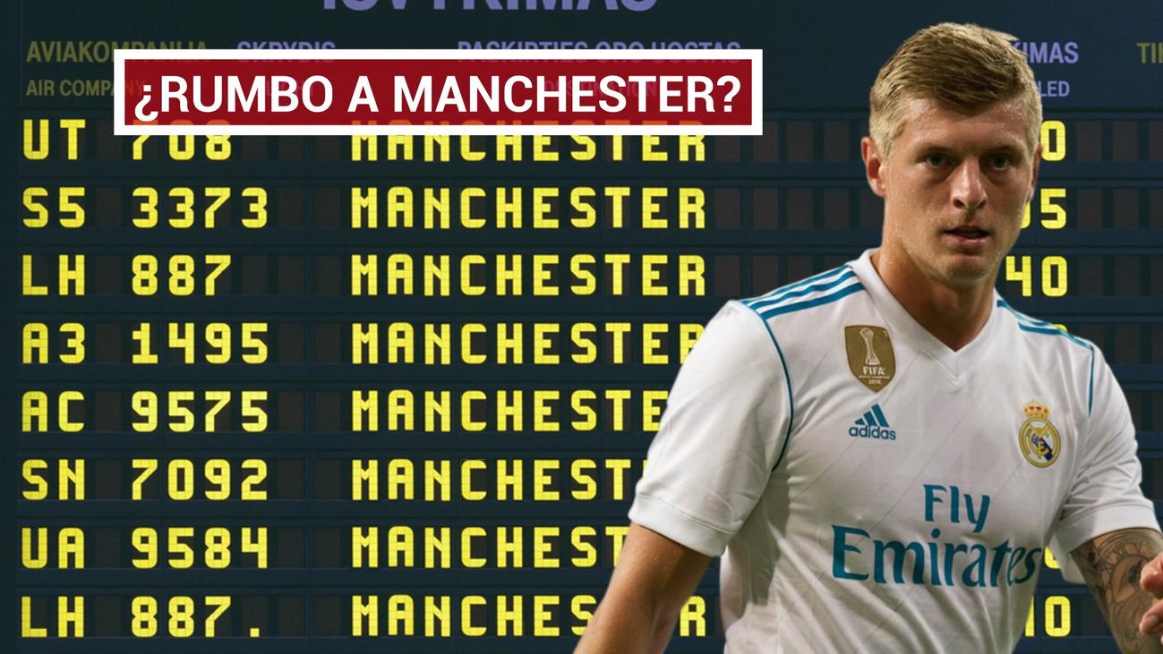 Kroos tiene ofertas para dejar el Real Madrid
