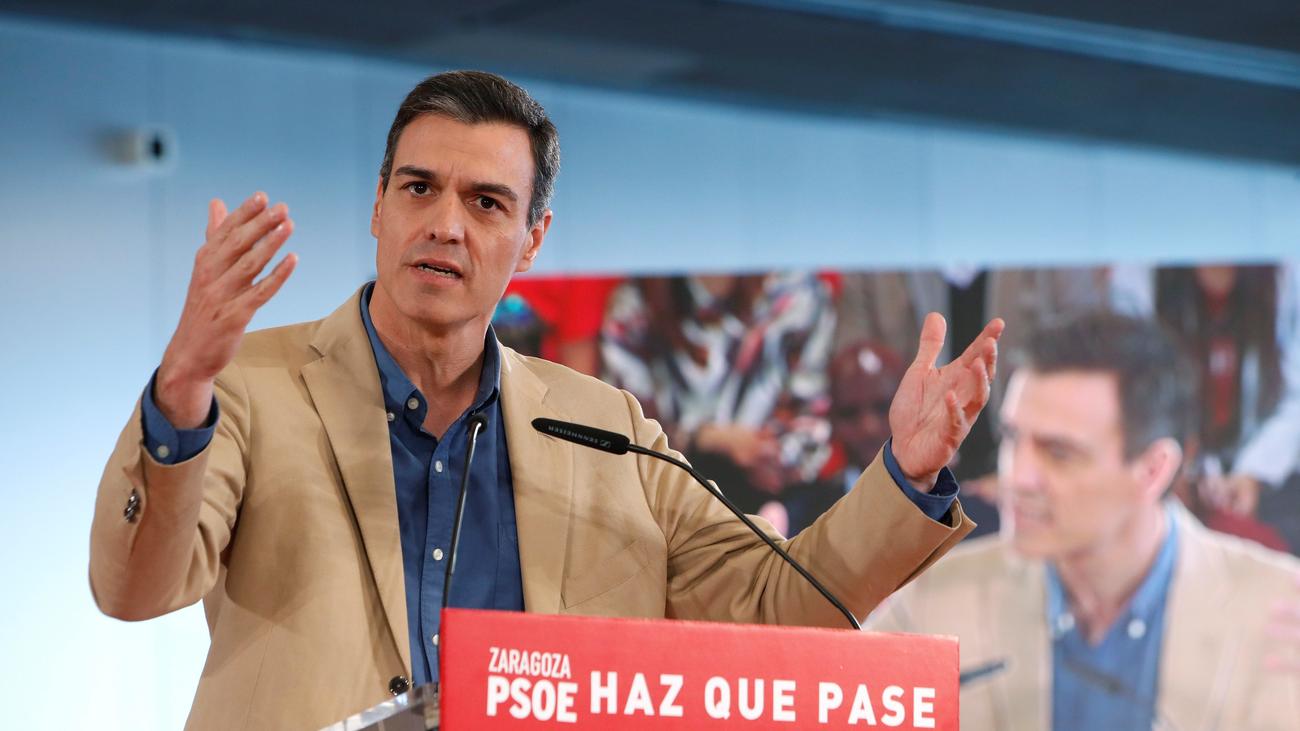 Sánchez: El PSOE es el único partido que puede sumar más que las tres derechas