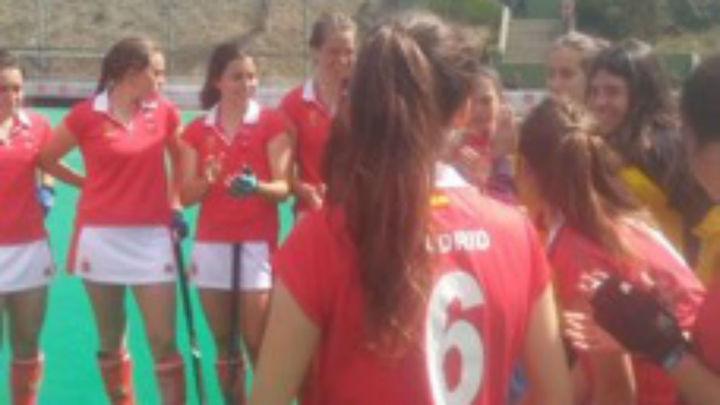 Madrid, subcampeona de España de Hockey Hierba Sub'16