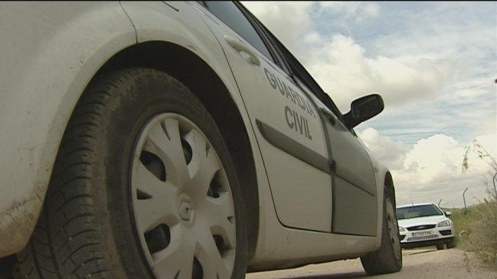 La Guardia Civil libera a dos personas secuestradas en Getafe y retenidas en su coche