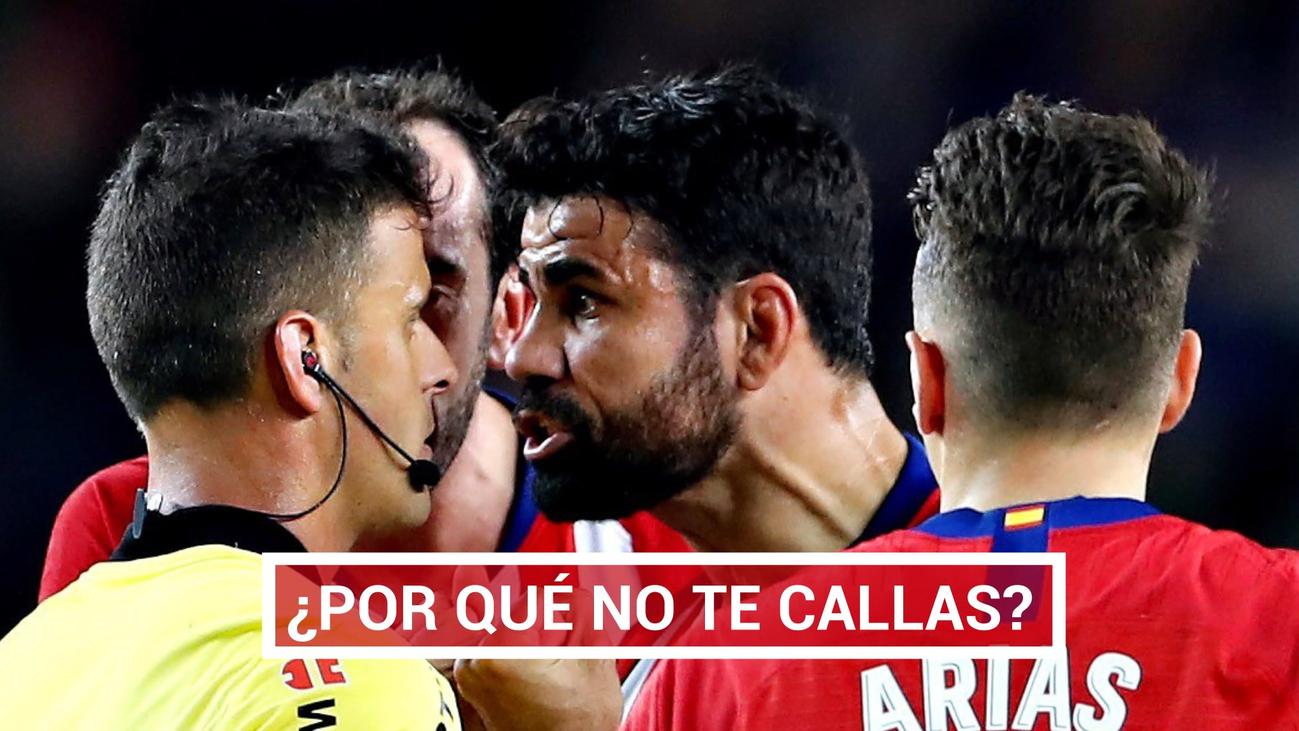 El acto de irresponsabilidad de Diego Costa ante el Barça