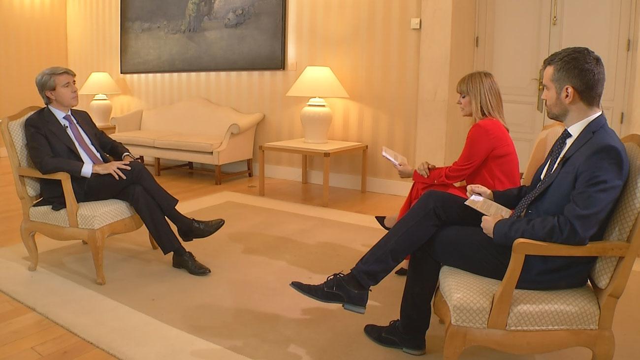 """Garrido: """"Me gustaría ser recordado como un presidente que supo estar a la altura de las circunstancias"""""""