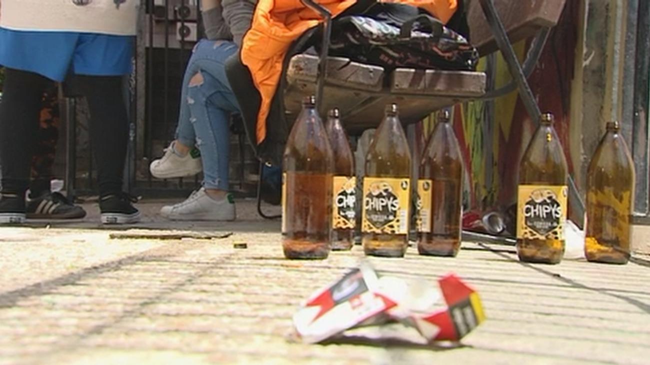 Los vecinos de Chamberí, hartos de tanta fiesta y botellones