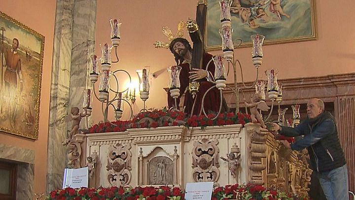 El Cristo de las Tres Caídas repite en el Miércoles Santo en Madrid