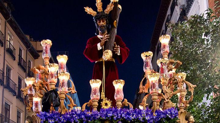 Los Gitanos y Tres Caídas protagonizan el Miércoles Santo en Madrid
