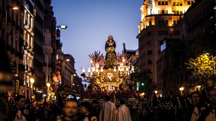 Jesús de Medinaceli, estrella de las procesiones del Viernes Santo en Madrid