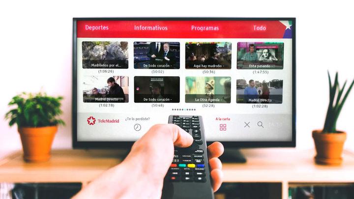 Telemadrid ofrece todos sus programas 'A la Carta' en los televisores conectados con HbbTV
