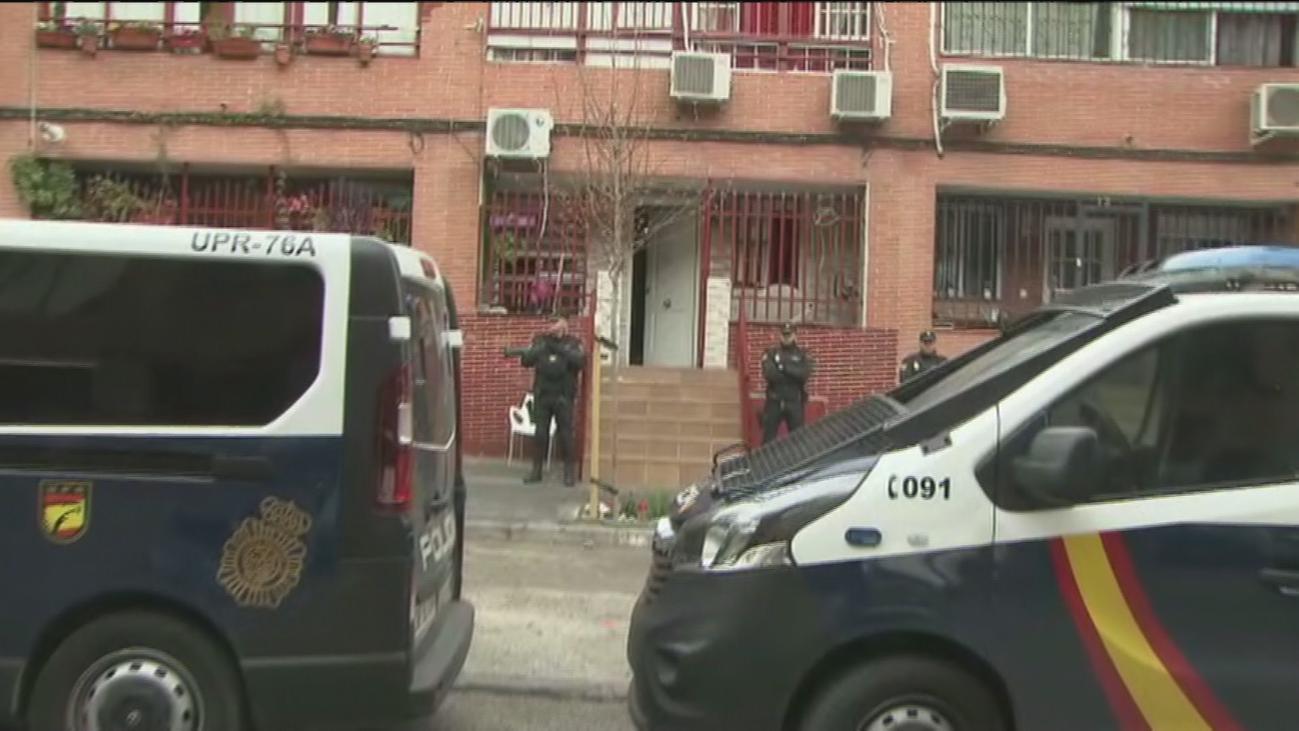 Operación policial en Madrid contra una banda dedicada al robo de camiones