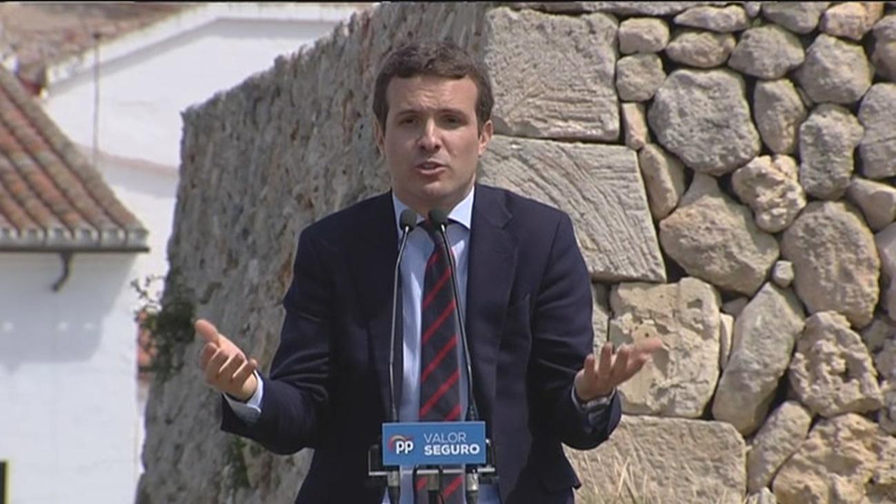 PP y PSOE, a la greña por las acusaciones de Casado a Sánchez