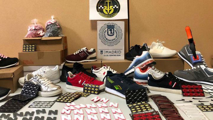 Incautan 12.000 productos falsificados en Cobo Calleja, en Fuenlabrada