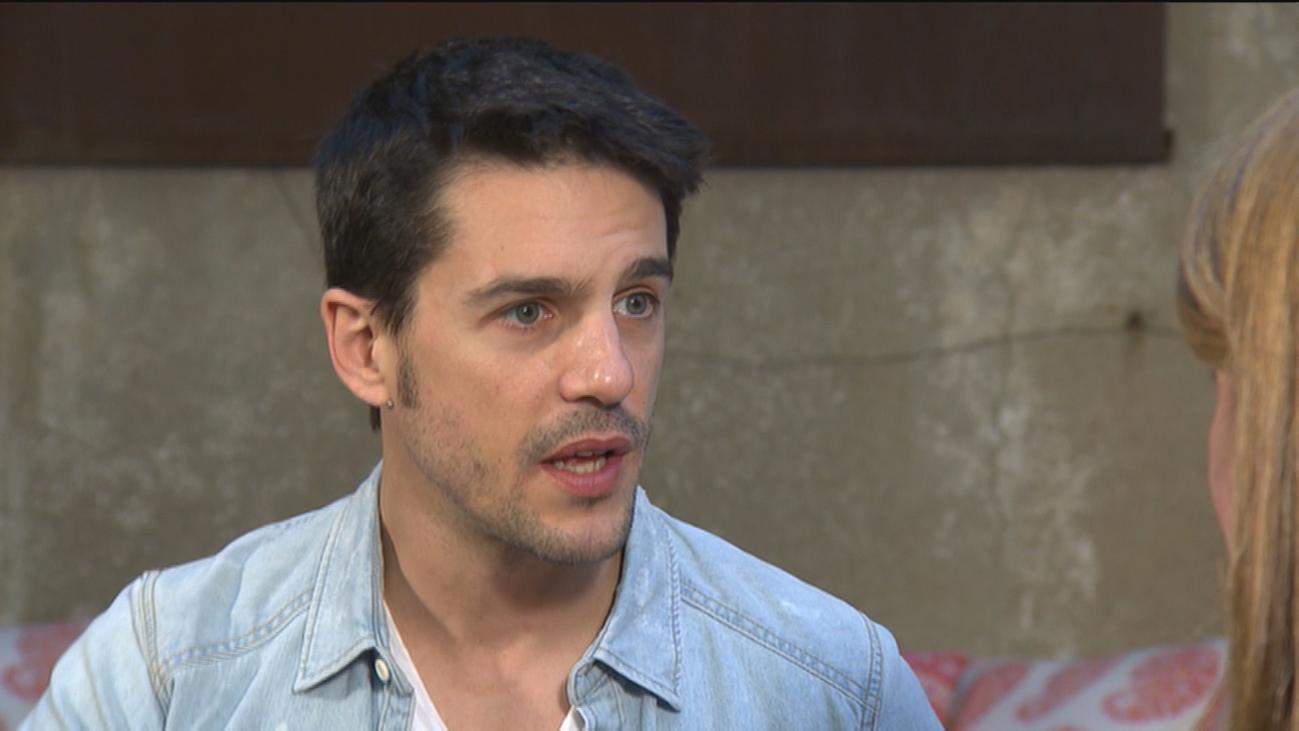 """Alejo Sauras: """"Estoy muy orgulloso de interpretar al primer gay de verdad"""""""