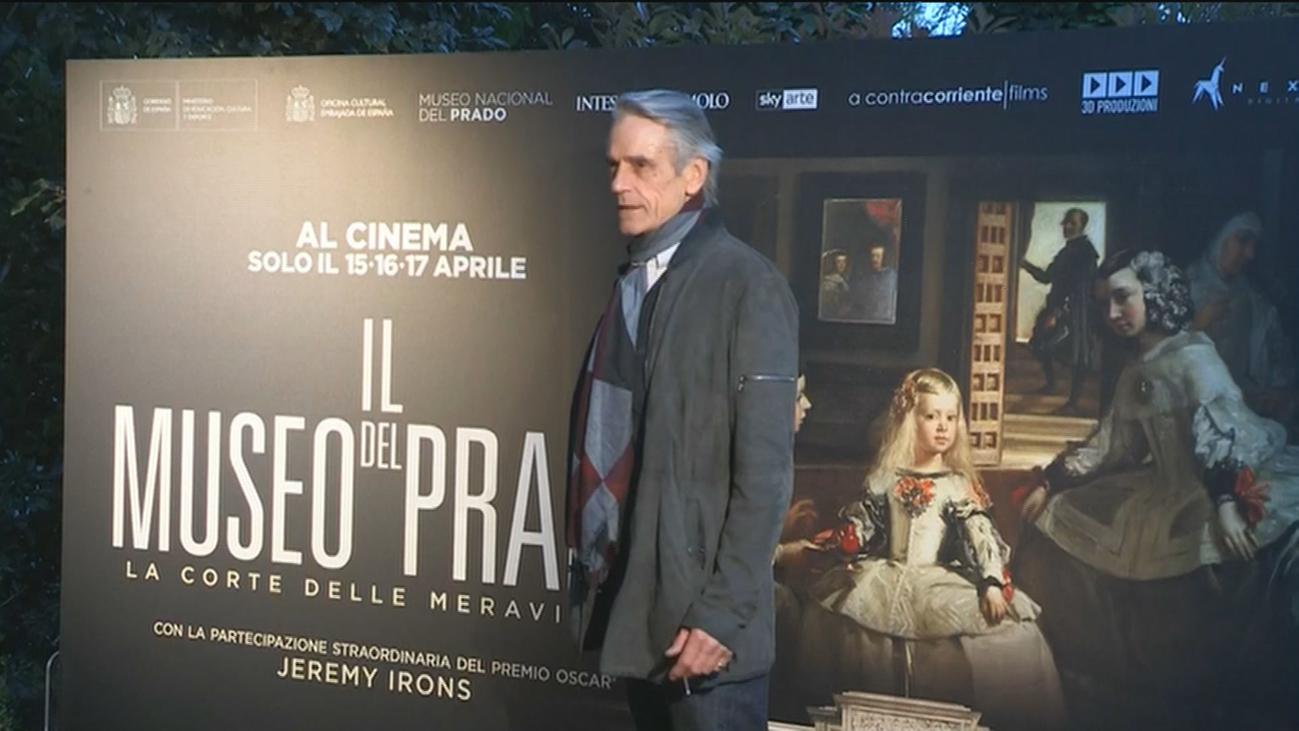 El actor británico Jeremy Irons se convierte en el nuevo anfitrión del Museo del Prado