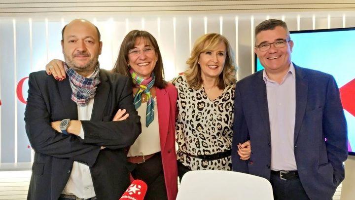 Cara a cara entre Susana Pérez (PP) y Guillermo Hita (PSOE)