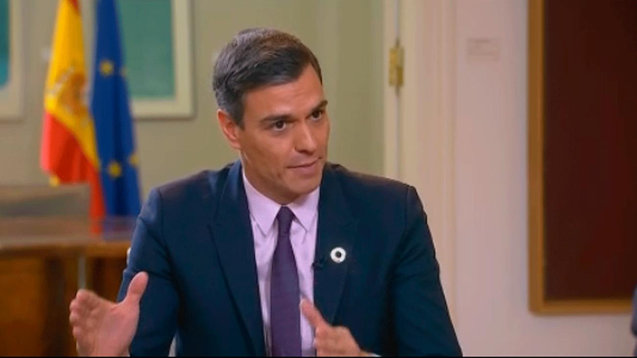 """Sánchez:  """"Cuando digo no es no. No va a haber independencia"""""""