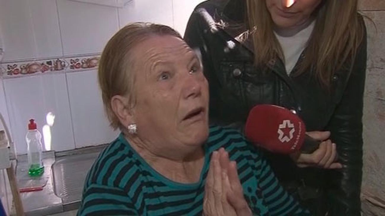 La anciana que sobrevivió a la explosión de gas se ha convertido en 'el milagro de Vallecas'