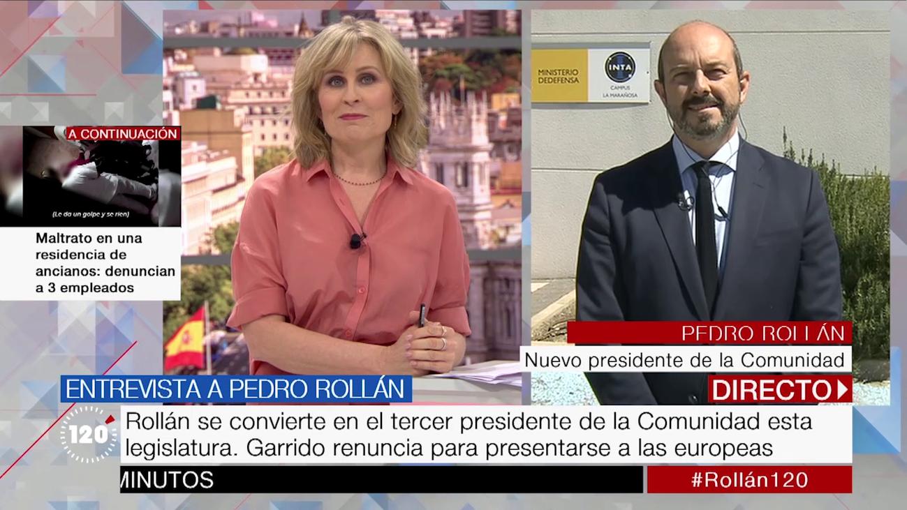 """Pedro Rollán: """"Estoy para servir a los madrileños para que tengan mejores servicios"""""""