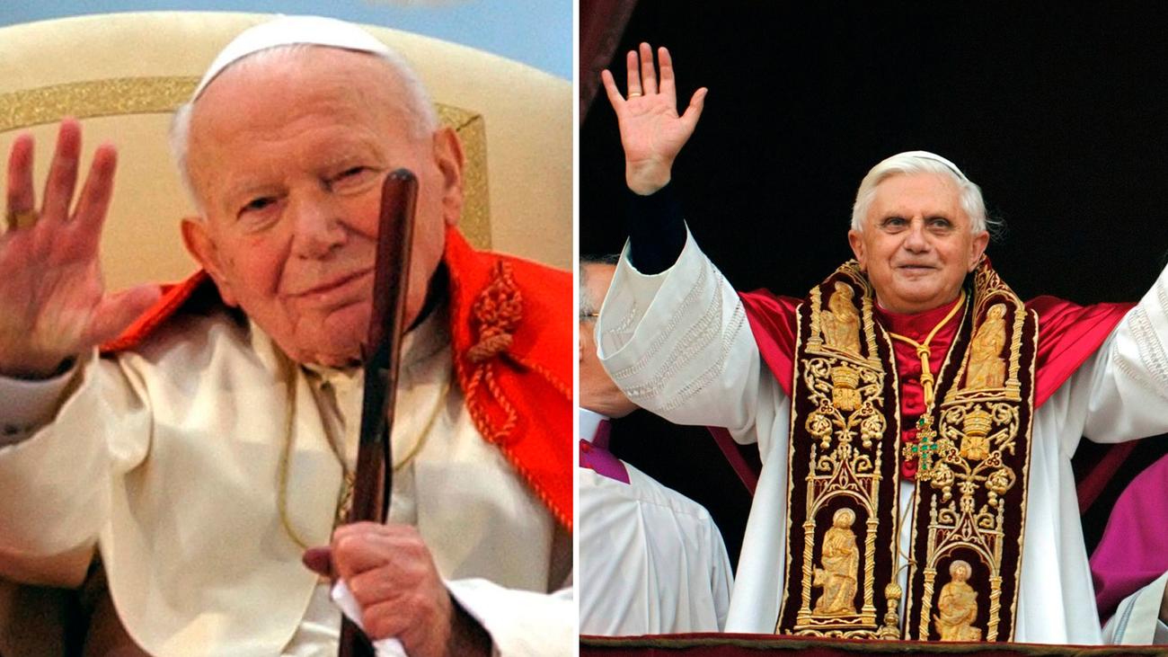 2005. Relevo en el Vaticano. Fallece Juan Pablo II y le sucede Benedicto XVI