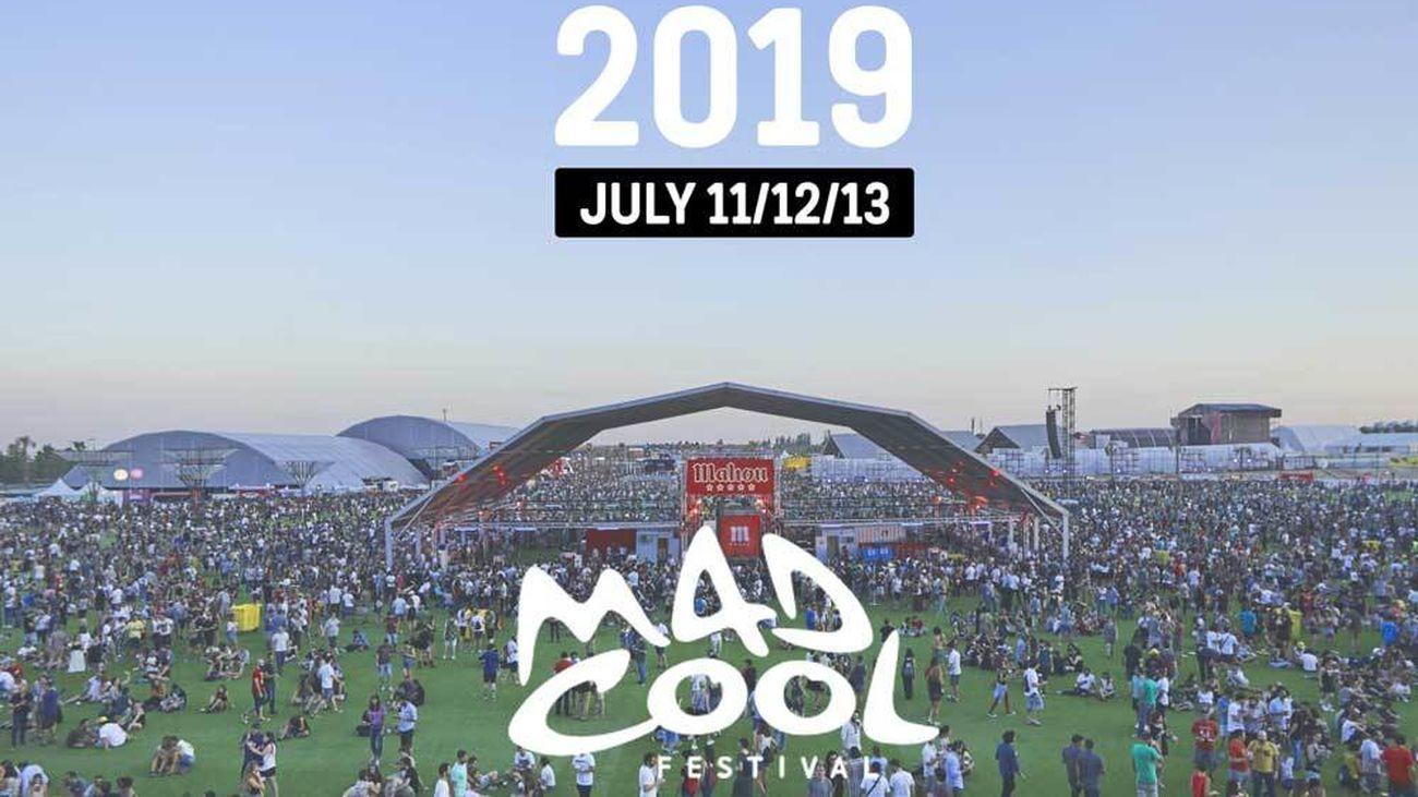 Cartel del Mad Cool 2019