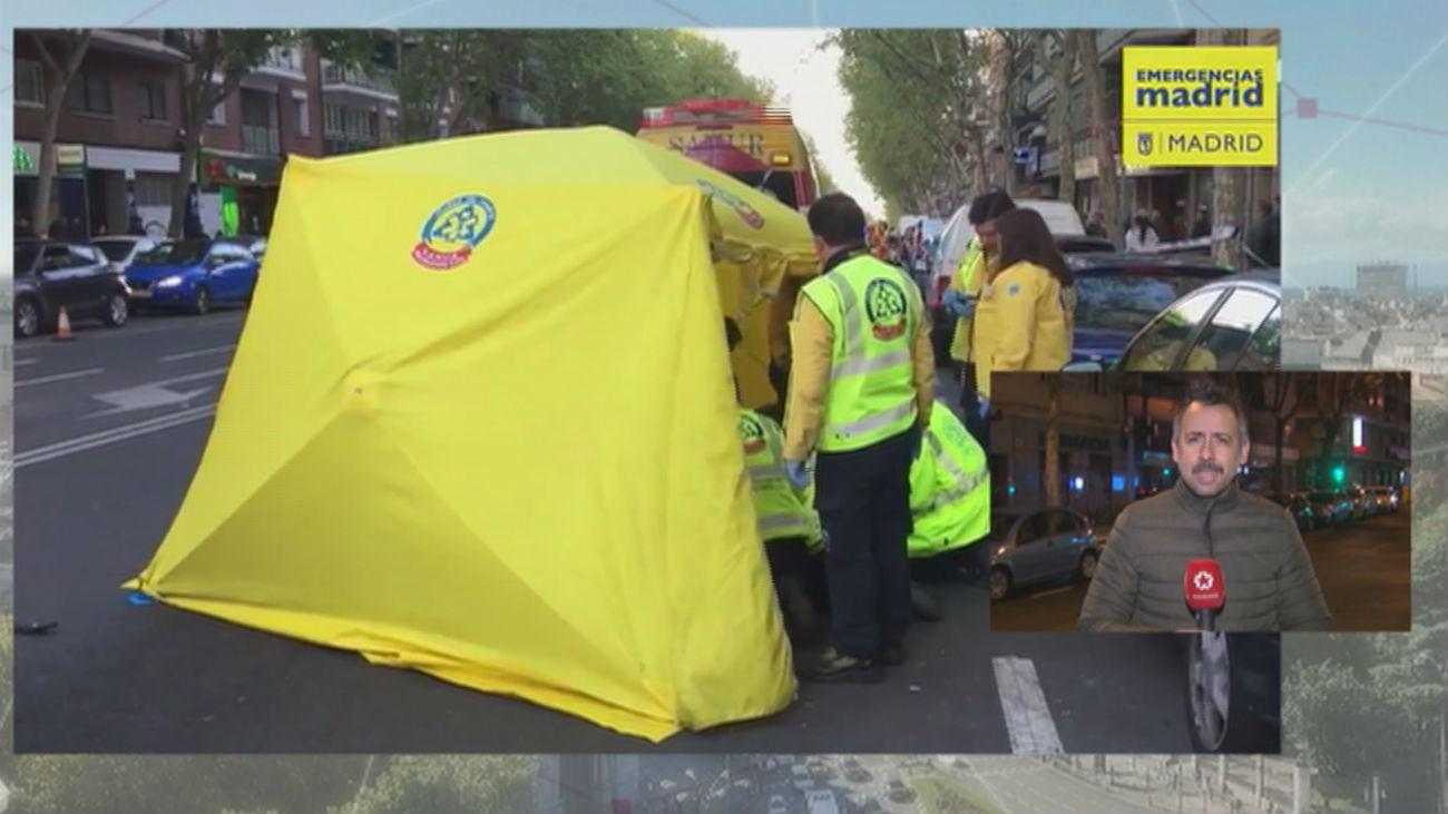 Muere atropellado un hombre de 62 años en la calle de Alcalá