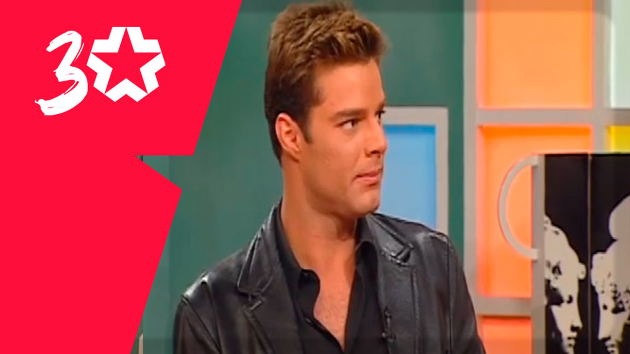 Ricky Martin pone a bailar al plató de Con T de Tarde