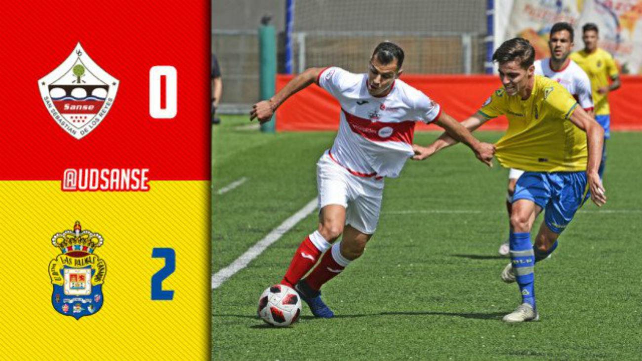 0-2. El UD Sanse cae con Las Palmas Atlético