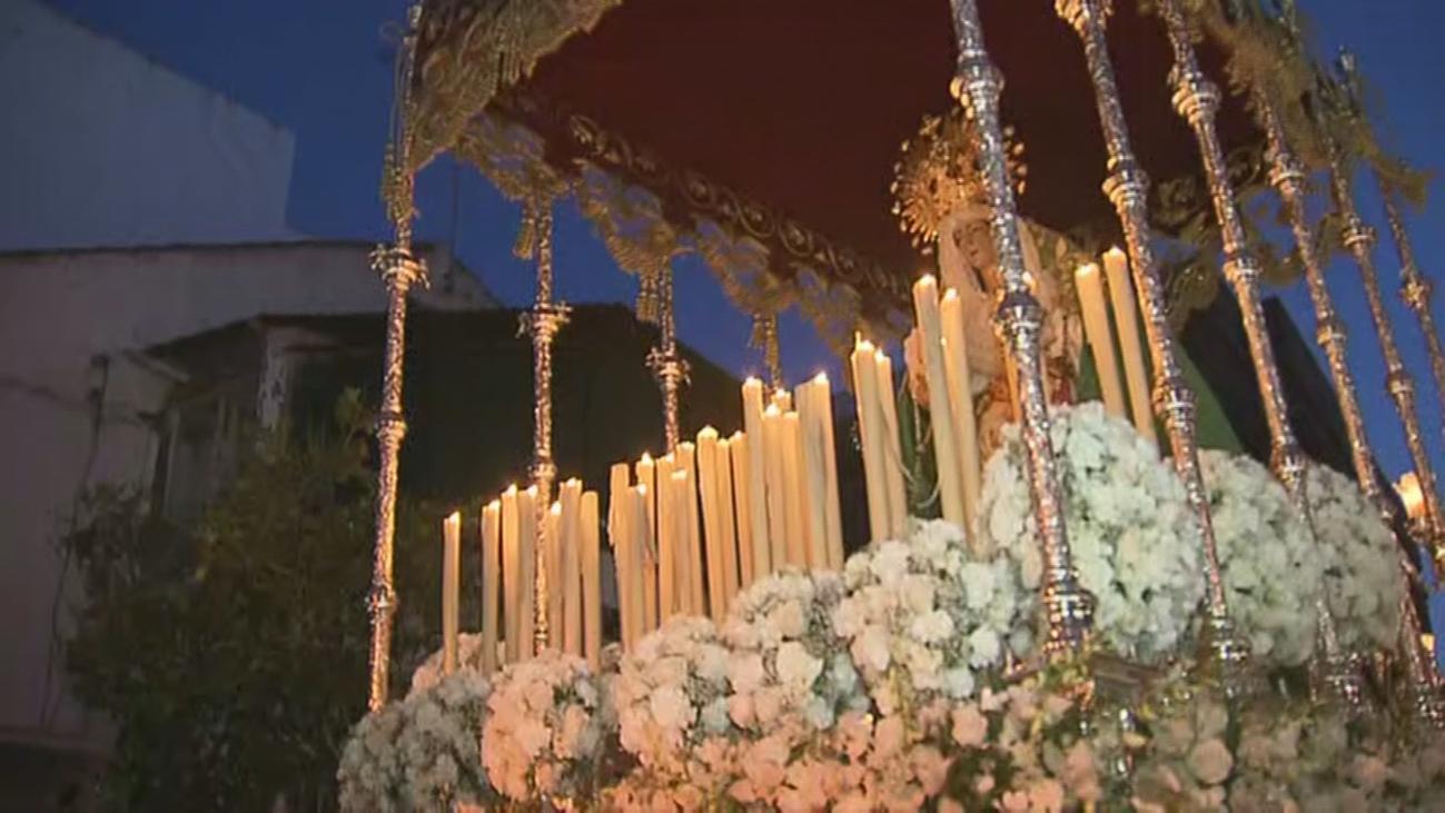 Encuentro de la Esperanza y Jesús Nazareno en Alcorcón