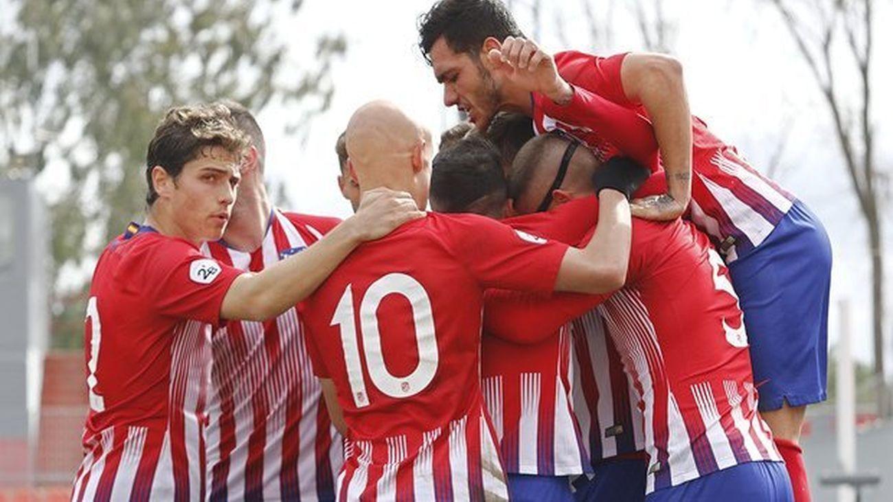 Fuenlabrada y Atlético B mandan en Segunda B