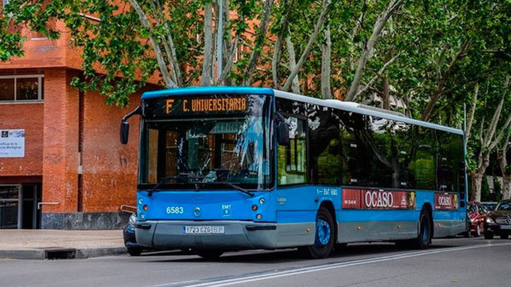 La EMT suspende las líneas a los campus universitarios madrileños esta semana