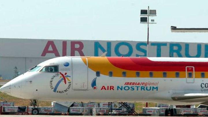 Air Nostrum cancela 148 vuelos a partir de este lunes por la huelga de pilotos