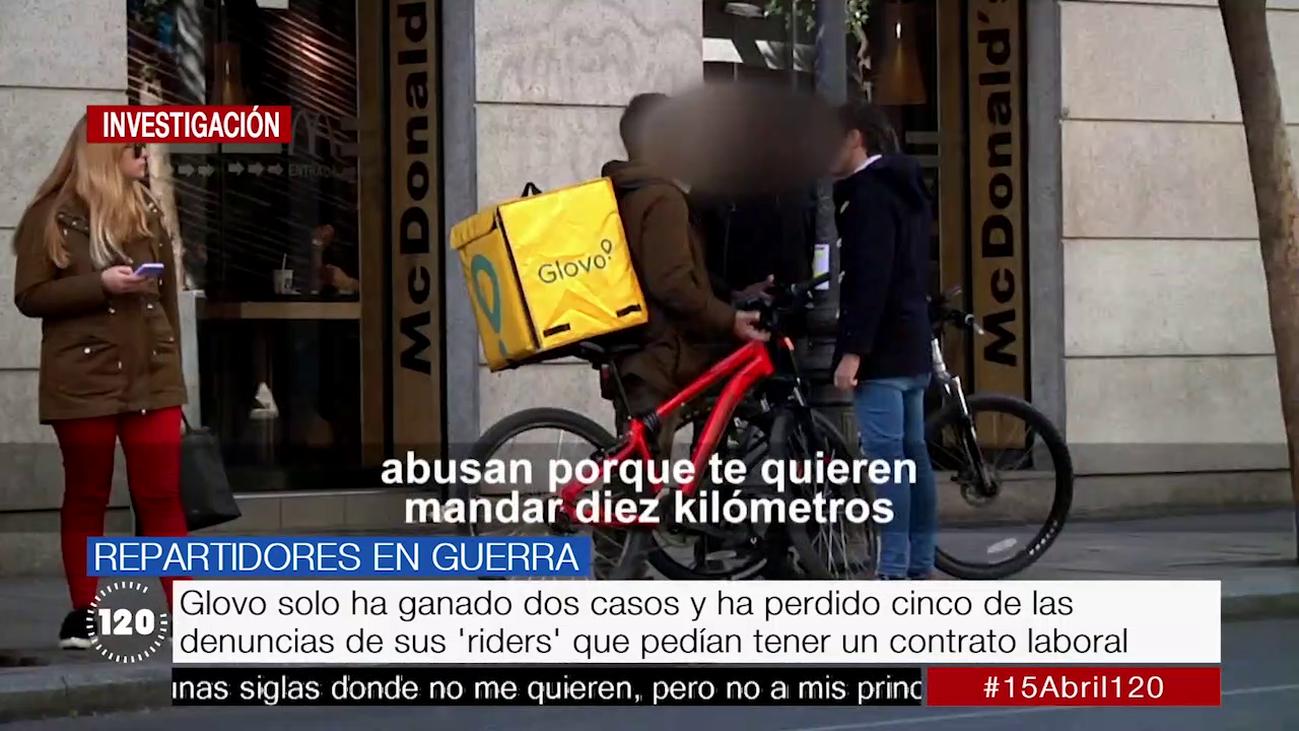 Tres sentencias en una semana dicen que los 'riders' de Glovo eran falsos autónomos